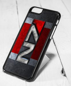 N7 Mass Effect Protective iPhone 6 Case, iPhone 5s Case, iPhone 5c Case, Samsung S6 Case, and Samsung S5 Case