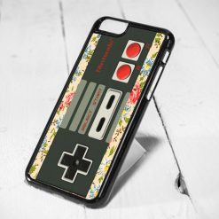 Nintendo Stick Floral Protective iPhone 6 Case, iPhone 5s Case, iPhone 5c Case, Samsung S6 Case, and Samsung S5 Case