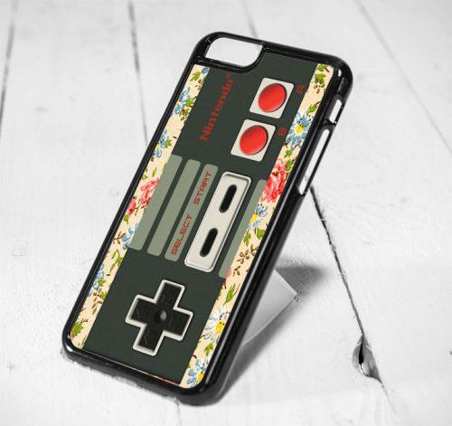 Nintendo Stick Floral Protective iPhone 6 Case, iPhone 5s Case, iPhone 5c Case, Samsung S6 Case, and Samsung S5 Case