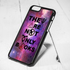 Not Only Books Quote Harry Potter, Hunger Game Protective iPhone 6 Case, iPhone 5s Case, iPhone 5c Case, Samsung S6 Case, and Samsung S5 Case