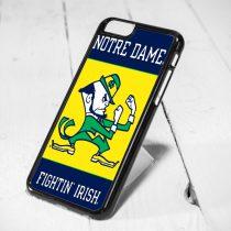 Notre Dame Fightin Irish Protective iPhone 6 Case, iPhone 5s Case, iPhone 5c Case, Samsung S6 Case, and Samsung S5 Case
