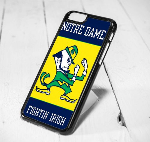 Notre Dame Fightin Irish Protective iPhone 6 Case, iPhone 5s Case, iPhone 5c Case, Samsung S6 Case, and Samsung S5 Case