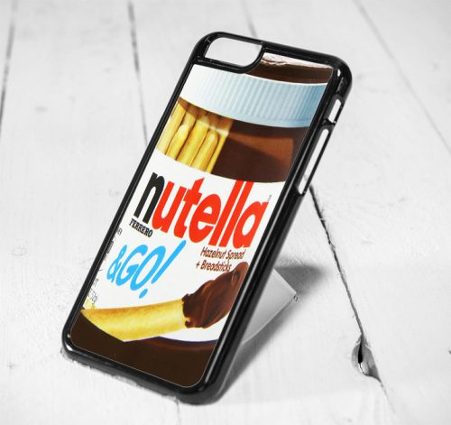 Nutella Chocolate Protective iPhone 6 Case, iPhone 5s Case, iPhone 5c Case, Samsung S6 Case, and Samsung S5 Case