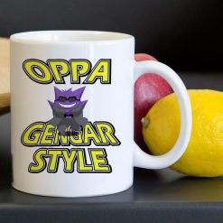Oppa Gengar Pokemon Style Tea Coffee Classic Ceramic Mug 11oz