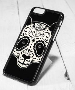 Panda Sugar Skull Protective iPhone 6 Case, iPhone 5s Case, iPhone 5c Case, Samsung S6 Case, and Samsung S5 Case