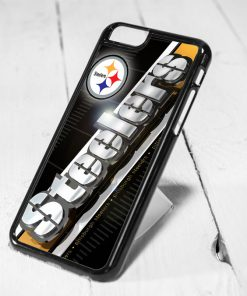 Pittsburgh Steelers NFL Team Protective iPhone 6 Case, iPhone 5s Case, iPhone 5c Case, Samsung S6 Case, and Samsung S5 Case
