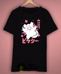 Pixy Clefable Pokemon Unisex Premium T shirt Size S,M,L,XL,2XL