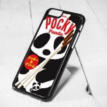 Pocky Panda Protective iPhone 6 Case, iPhone 5s Case, iPhone 5c Case, Samsung S6 Case, and Samsung S5 Case