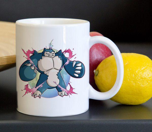 Pokemon Mega Snorlax Tea Coffee Classic Ceramic Mug 11oz