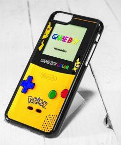 Pokemon Nintendo Protective iPhone 6 Case, iPhone 5s Case, iPhone 5c Case, Samsung S6 Case, and Samsung S5 Case