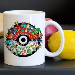 Pokemon Pokeball Collage Characters Tea Coffee Classic Ceramic Mug 11oz