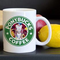 Ponybucks Unicorn Tea Coffee Classic Ceramic Mug 11oz