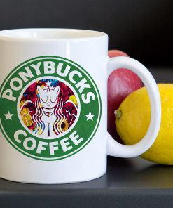 Ponybucks Unicorn Tea Coffee Classic Ceramic Mug 11oz