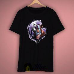 Romantic Jack and Skellington Unisex Premium T shirt Size S,M,L,XL,2XL