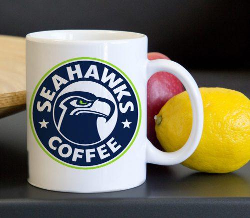 Seattle Seahawks Tea Coffee Classic Ceramic Mug 11oz