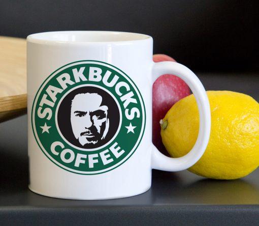 Starbucks Toni Stark Tea Coffee Classic Ceramic Mug 11oz
