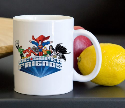 Super Friends Classic Superhero Tea Coffee Classic Ceramic Mug 11oz