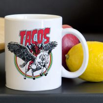 Taco Deadpool Unicorn Tea Coffee Classic Ceramic Mug 11oz