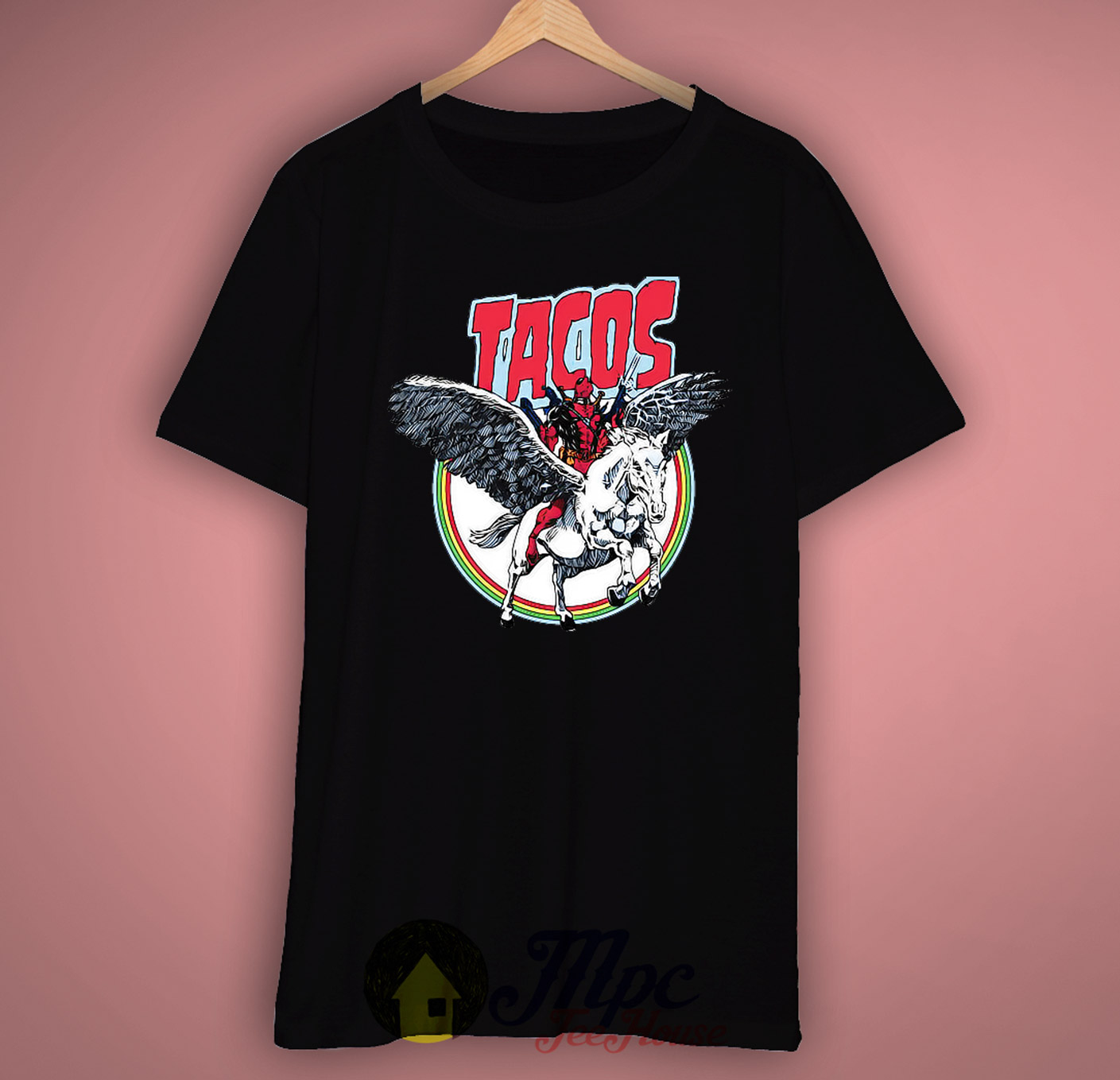 Funny Deadpool Tacopool Unisex Premium T Shirt Size S M L Xl 2xl