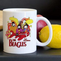 The Beagles Aeroplane Tea Coffee Classic Ceramic Mug 11oz
