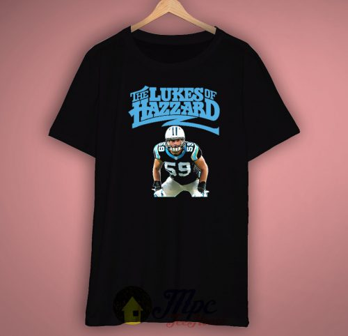 The Lukes of Hazard Carolina Panthers Unisex Premium T shirt Size S,M,L,XL,2XL