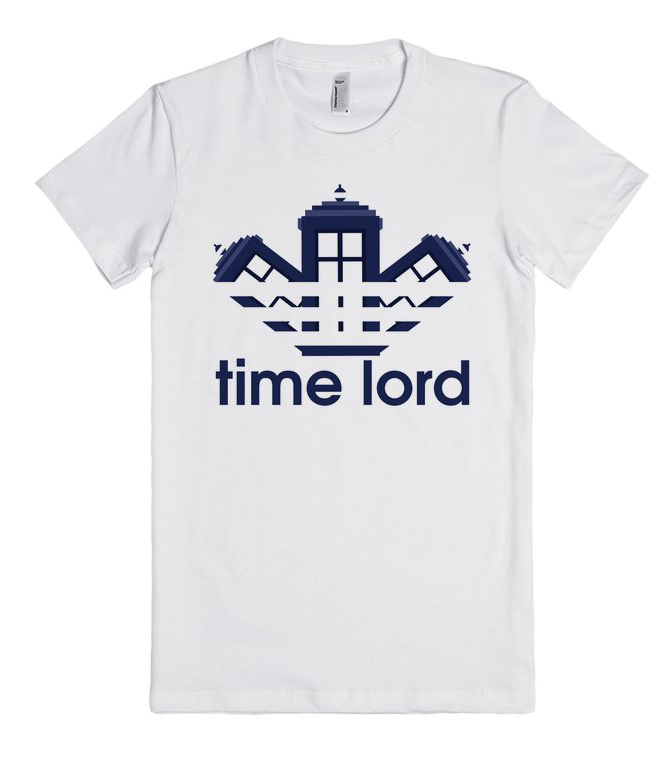 Doctor Who Time Lord Fitness Unisex Premium T shirt Size S,M,L,XL,2XL