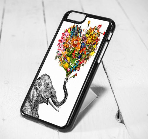 Tribal Elephant Art Protective iPhone 6 Case, iPhone 5s Case, iPhone 5c Case, Samsung S6 Case, and Samsung S5 Case