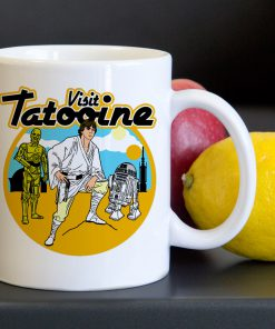 Visit Tatooine Starwars Tea Coffee Classic Ceramic Mug 11oz
