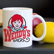 Wendys Burger Symbol Tea Coffee Classic Ceramic Mug 11oz