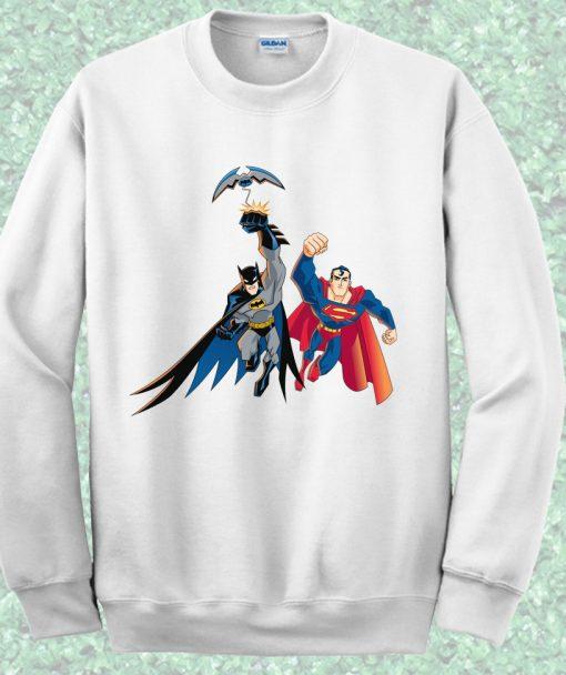Batman vs Superman Crewneck Sweatshirt