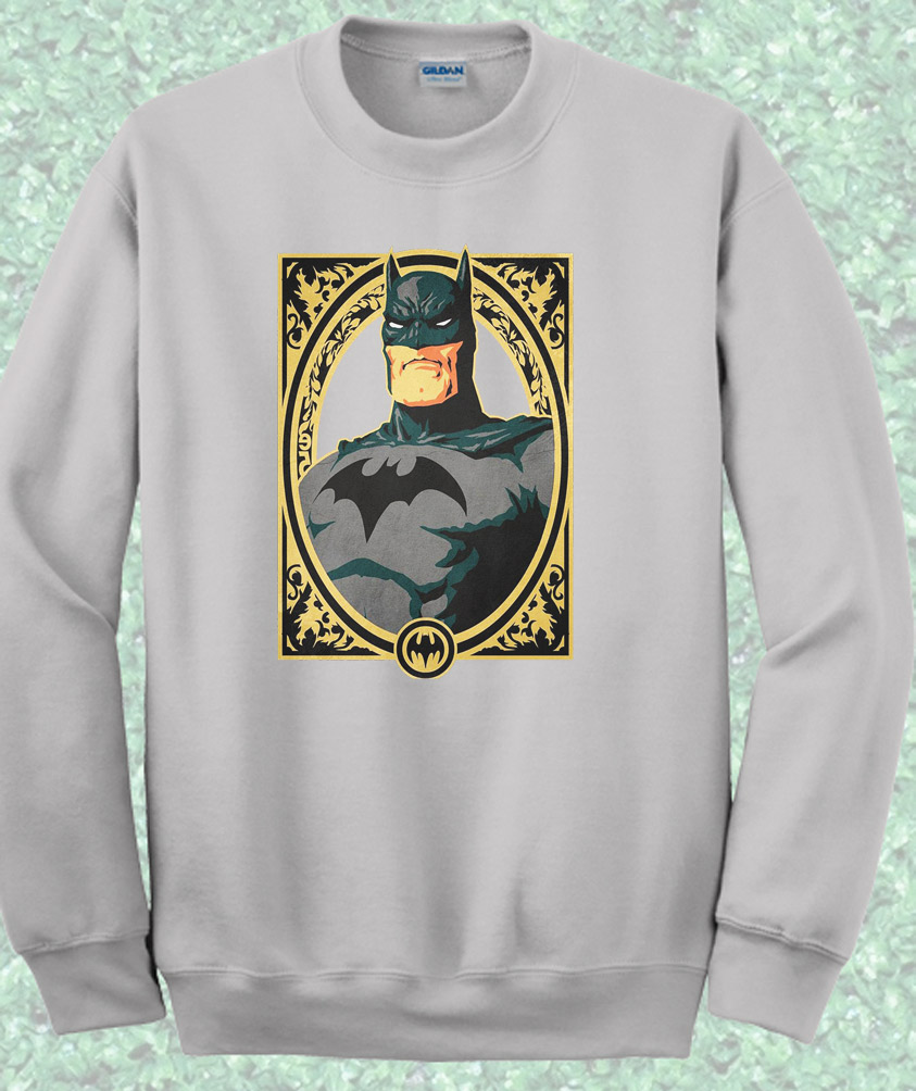 Batman Potraits Crewneck Sweatshirt