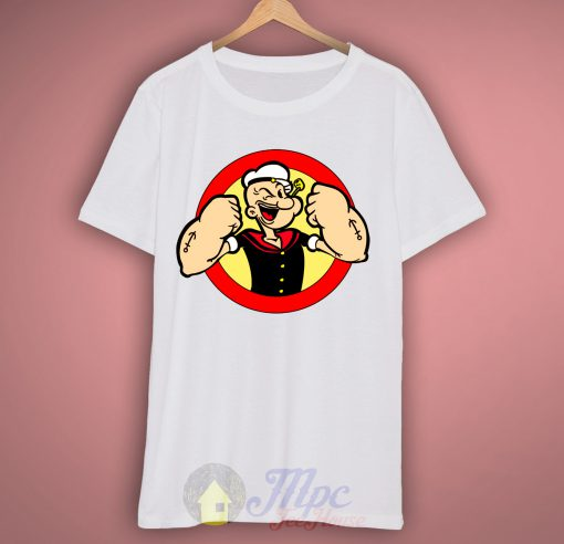 Popeye Sailor Man Unisex Premium T shirt Size S,M,L,XL,2XL