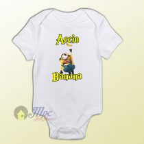 Baby Clothes Despicable Minion Accio Banana Baby Onesies