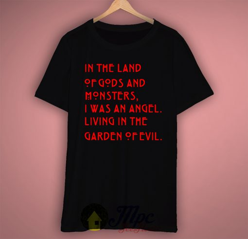 American Horror In The Land of Gods T Shirt Available Size S M L XL XXL