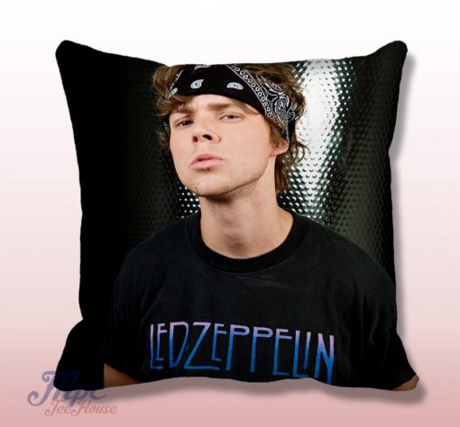 Ashton Irwin 5sos Handsome Face Throw Pillow Cover