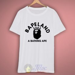 Bapeland T Shirt Available Size S M L XL XXl