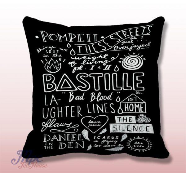 Bastille Pompei Decoratice Throw Pillow Cover