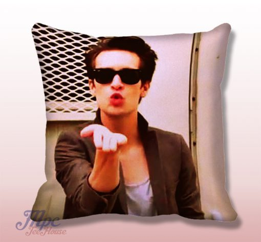 Brendon Urie Panic at The Disco Throw Pillow