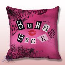 Burn Book Mean Girl Cover Book Throw Pillow