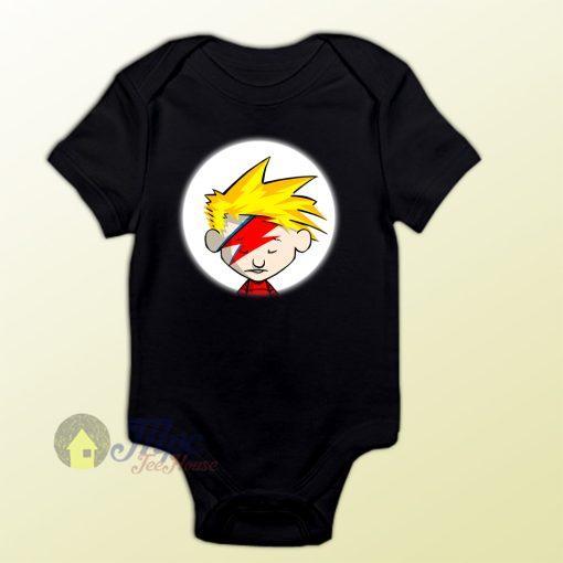 Calvin Hobbes Stardust Baby Gift Onesie