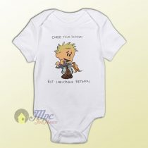 Calvin and Hobbes Curse Your Sudden Baby Onesie