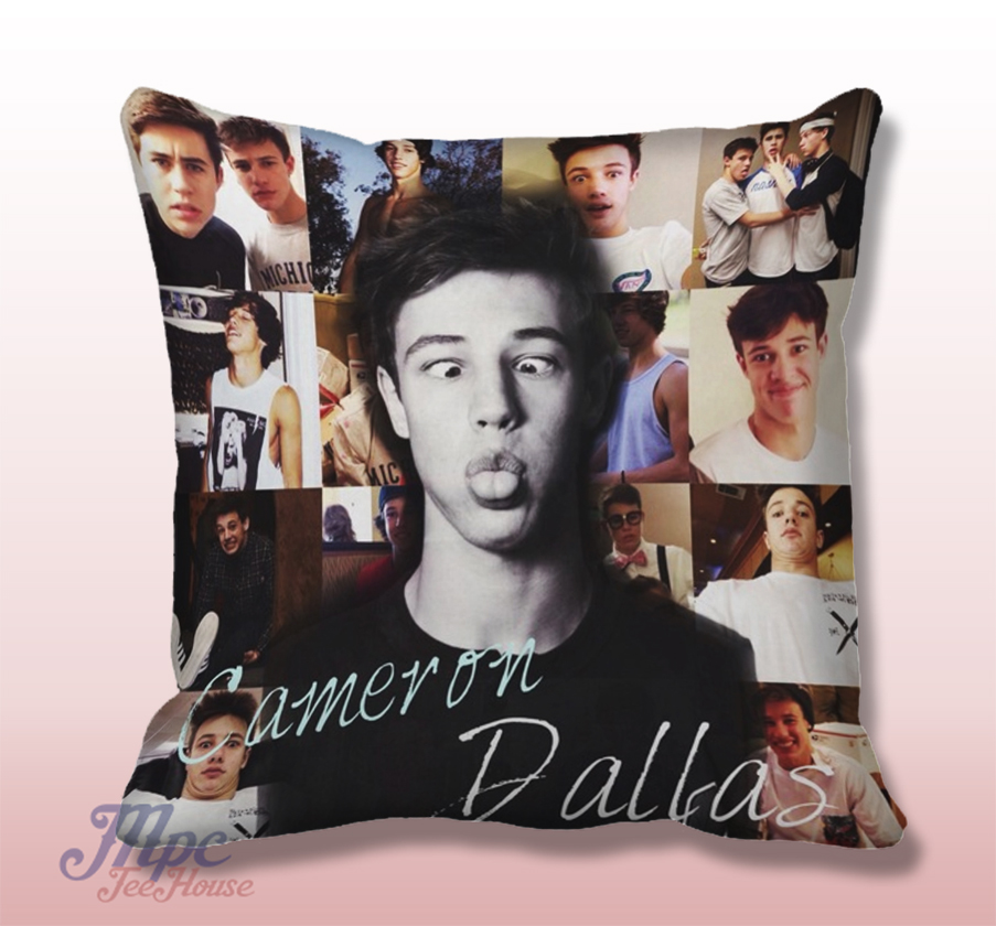Cameroon Dallas Magcon Boys Throw Pillow