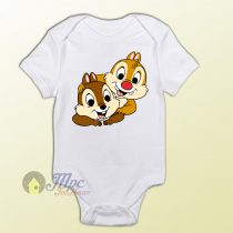 Baby Clothes Chip and Dale Funny Baby Onesie