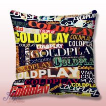Coldplay Collage Throw Pillow Cover