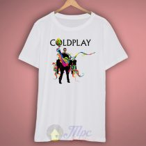 Coldplay Splatted Color T Shirt