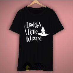 Daddys Little Wizard Basic Tee