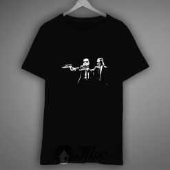 Darth Vader Stormtrooper Pulp Fiction T Shirt