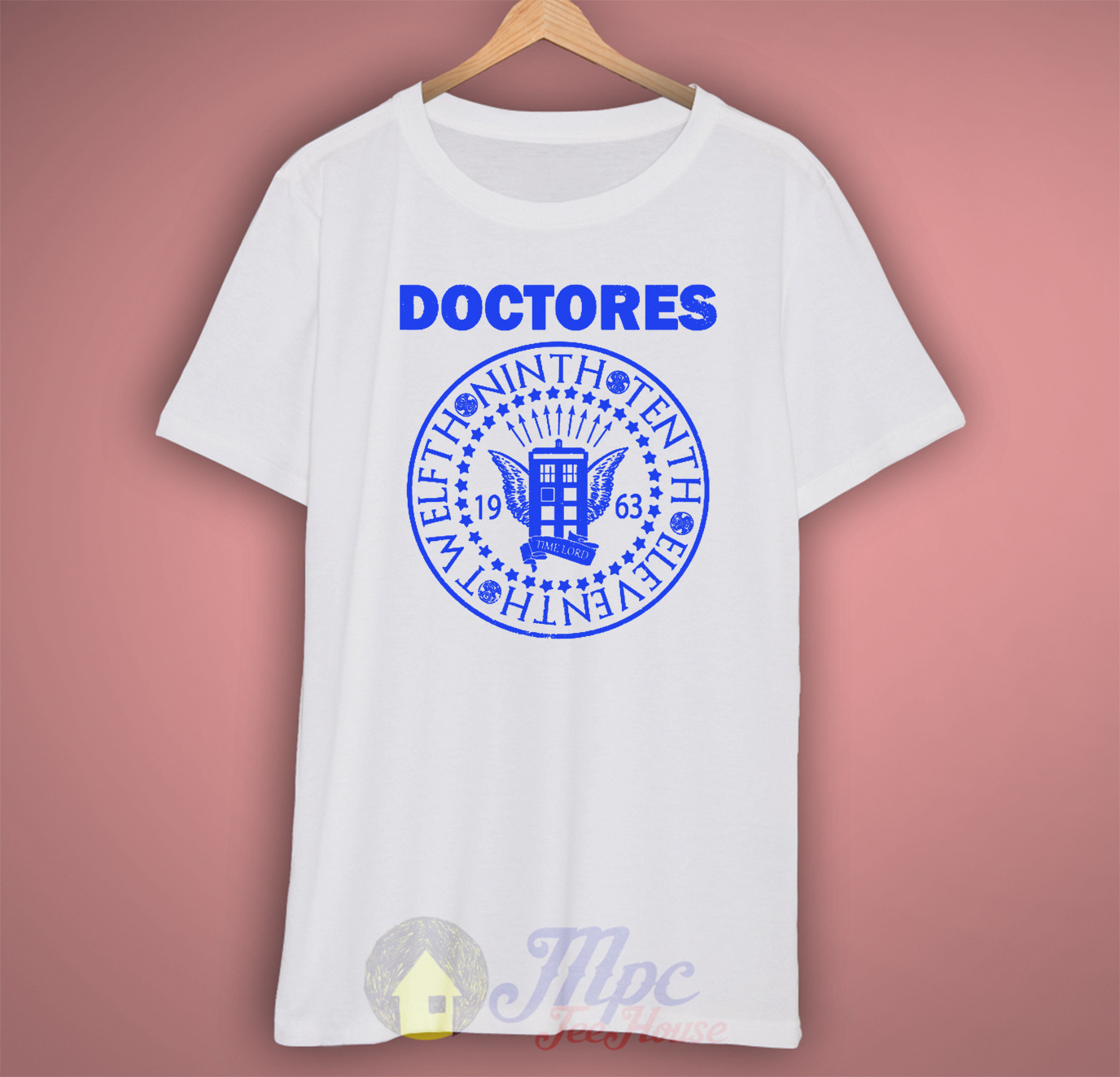 Doctor Who Doctores T Shirt