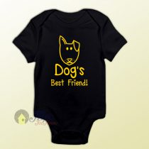 Baby Bodysuit Dogs Best Friend Baby Onesie