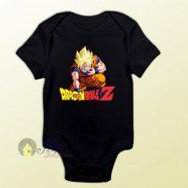 Dragon Ball Z Son Goku Super Saiyan Baby Onesie